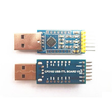 CP2102 USB to TTL Board V3.0 Burner with Download cable Support Windows 8/7/Vista/Server 2003/XP etc with DuPont wire(China)