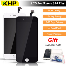 2017 100% Original KHP AAAA Screen LCD For iPhone 6 Plus Screen LCD Replacement Display Touch Screen Digitizer Quality LCDs