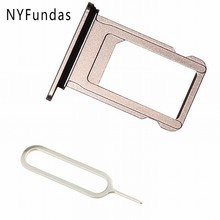 NYFundas SIM Card Holder Slot Tray Replacement for iPhone 7 Plus 5.5-inch 7plus iPhone7Plus Adapter Tool Repair Part Accessories