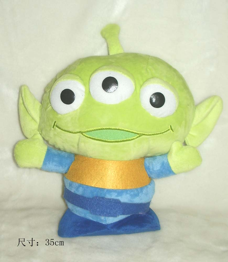 Original Rare Toy Story Alien Cute Soft Stuffed Plush Toy Doll Birthday Gift Children Kids Boy Girl Gift Limited Collection<br><br>Aliexpress