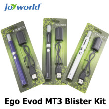 Electronic vaporizer pipe ego  Evod MT3 Blister Kit electronic cigarette evod battery ego mt3 price smoke electronic e cig (MM)