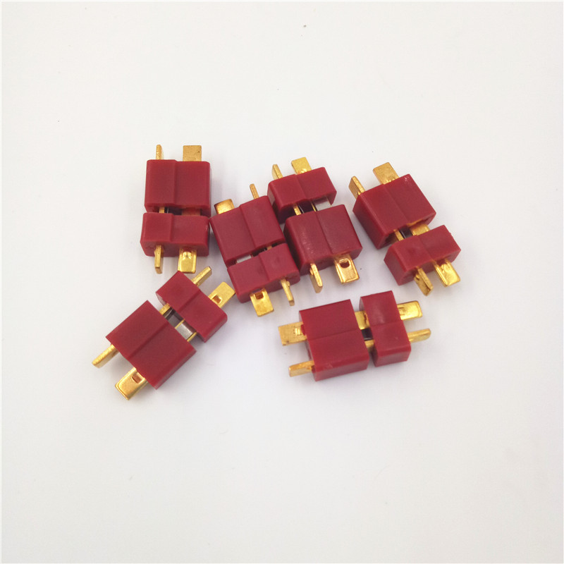Tarot 3Pairs 10Pairs Male Female Anti-skid T Connectors Plug Deans Style RC LiPo Battery Brushless Motor ESC Combos