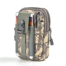 HOT Waterproof D30 Molle Waist Bags Men Casual Waist Pack Nylon Work Waist Bag Army Military Small Bags