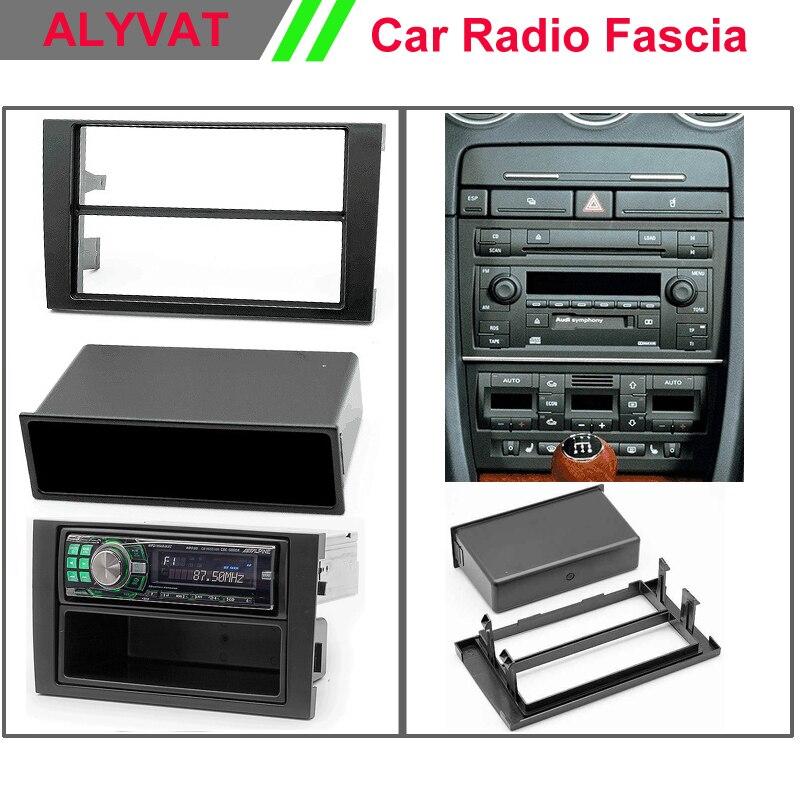 2000-2006 CARAV 11-001 1-DIN Marco de pl/ástico para Radio para Audi A4 B6 B7 A4 2004-2009 // Seat Exeo 2009-2013 with Pocket