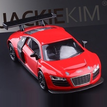High Simulation Exquisite Diecasts&Toy Vehicles: Caipo Car Styling Audi R8 LMS Race Car 1:32 Alloy Diecast Model Toy Car(China)