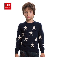 boy sweater stars pattern o-neck children clothing boy pullover winter kids jumpers boy brand sweater boy pullover