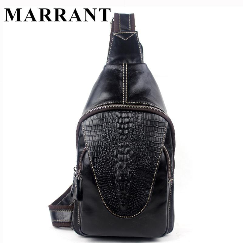MARRANT Brand Men Bag Genuine Leather Bag Men Messenger Bags Shoulder Crossbody Bags Belt Waist Pack Casual Leather Handbag<br><br>Aliexpress