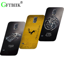 Cute Cartoon Case For Samsung Galaxy Note Edge N9150 N915 SM-N915f Hard Plastic Case Football Cover Game of Thrones 7