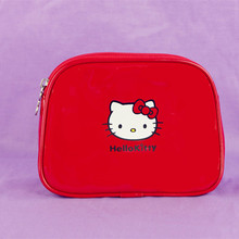 Hellokitty vanity popular Cosmetic Bag Travel Waterproof Kawaii makeup bag women necessity travel makeup organizer(China)
