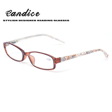Reading Glasses Spring Hinge Great Value Stylish Readers With Floral Design Fashion Men and Women Glasses for Reading