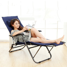 Strengthening the office chair manufacturer of folding chair 178cm Oxford cloth couch couch at beach(China)