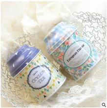 Fashion lovely pacifier shape with cover tin storage box tea wedding candy boxes best gifts 5pcs/lots mix color