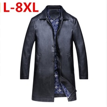 Buy big size 8XLleather jacket,Genuine Leather,Mandarin Collar,Sheepskin,Coat male,Leather jacket men,mens leather jackets coats for $82.65 in AliExpress store