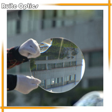 1PC 202mm Dia Large Round Plastic Solar Fresnel Condenser Lens Long Focal Length 85mm Plane Magnifier,Solar Magnifying Glass(China)