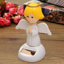 New Arrival Solar Toys Plastic ABS Dancing Fun Angel Flip Flap Powered Toys For Desk Home Ornaments Decor Toys