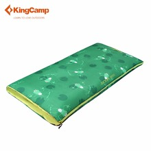 KingCamp Lightweight Sleeping bag for children warm Loft Zipper  waterproof Can be spliced buy the second is half price on sale