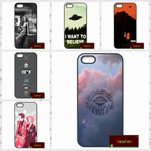 The x files i want to believe phone cases capa para iphone 4 4S 5 5S 5c 7 além de si 6 6 s 4.7 5.5 # SD0121