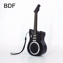 BDF Mini Guitar Portable Mini Bluetooth Speaker C330 3W Stereo Sound Box Mp3 Player Subwoofer Speakers Built-in 500mAh Battery
