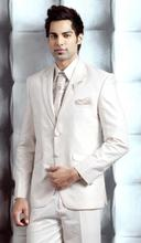 Ivory Wedding Dress collar dress men's best men's suits two button suits enterprise two piece suit (jacket + pants + tie)