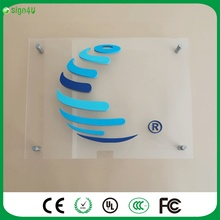 3D acrylic room number, company logo, name, decoration, guide boards display, Cheap and fine