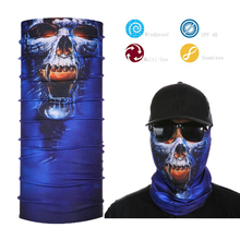 Multifunctional Sports Tube Bandana Magic Skull Face Shield