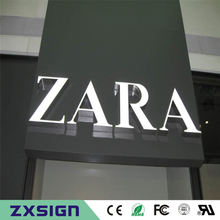 Outdoor waterproof factory price 3d led light epoxy resin coffee shop sign, shop name signage, company logo signs(China)