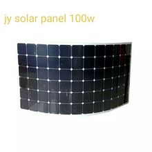 Free shipping High performance 100W 12V Black or white Solar Panel Generator Power Mono Charging