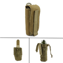 New Molle Tactical Military Travel Water Bottle Pouch Carry Bag Case Outdoor Hunting Hiking Kettle Pouch(China)