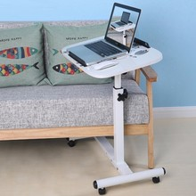 BSDT Yi Amoy lazy notebook comter bed with simple mobile rotary folding bedside table lifting desk FREE SHIPPING(China)