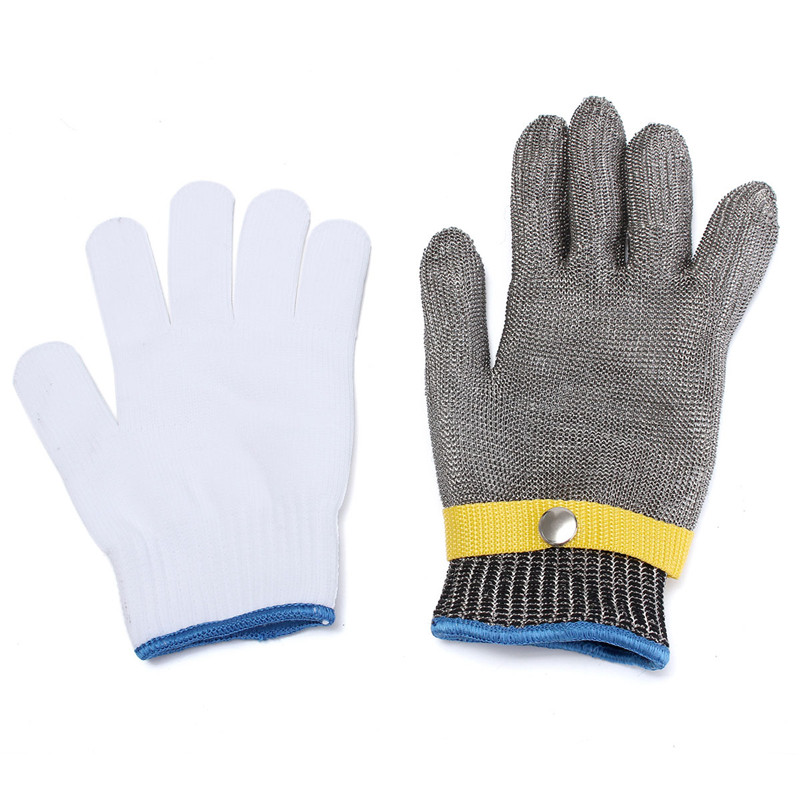 Steel Wire Mesh Safety Gloves Excellent Quality Soft And Comfortable Elastic Outstanding  Durable Quality<br><br>Aliexpress