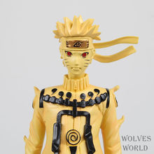 24cm High Quality NARUTO Model Uzumaki Naruto Action Figure Kyuubi Naruto Figure with Gift Box(China)