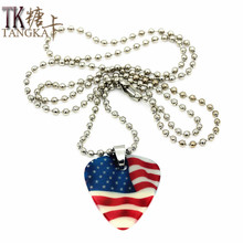 2015 new fashion Cartoon characters Necklace noctilucence Collares Pendants Strip Chain Necklaces Jewelry 1.0mm guitar picks