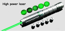 new 50000mw 532nm Green laser pointer high power green laser pen focus burn matches pop balloom with 5 caps+ccharger+box
