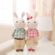 Metoo Doll Lovely Stuffed Cloth Rabbit Doll Metoo Rabbit  plush toys Dolls For Baby Gifts Couple Cute Toy