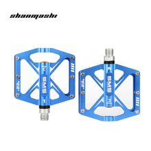 Bicycle Pedal 3 Bearings Ultralight Aluminum Alloy Professional MTB Mountain Bike Road Pedal Accessories Outdoor Cycling pedals(China)