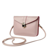 A lovely bag full of personality, so fresh and unique Fashion Zero Purse Bag Leather Handbag Single Shoulder Messenger Phone Bag
