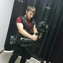 Famoushobby MV137 CNC Carbon Fiber Steadicam Camera Vest with Dual Arms, Smooth Shooter Support System for Video Camera DSLR
