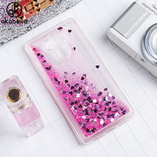 AKABEILA Glitter Liquid Soft TPU Case For Xiaomi Redmi 4 Pro Redmi4 16GB/32GB ROM Redmi 4S Prime Cover Phone Case Back Cover