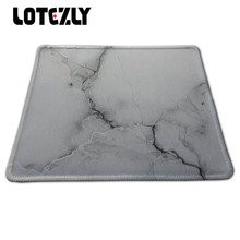 Unique Design Marble Backgroung Gaming Mousepad Locking Edge Anti-slip Rubber Mouse Mat Speed Gamer Mice Play Mat For Computer