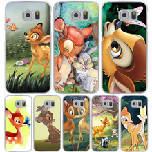 Bambi and Thumper Hard Transparent Cover Case for Samsung Galaxy A3 A5 J5 (2015/2016/2017) & J3 J5 Prime J7