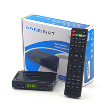 Hot sales ! Original Freesat V7 HD Mini Digital Satellite Receiver Full HD DVB S/S2 USB WiFi Biss Patch cccam newcamd Powervu