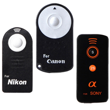 Remote Shutter Release Infrared Wireless Selfie Button with CR2025 for DSLR Camera Canon RC-6 Nikon ML-L3 Sony 2s(China)