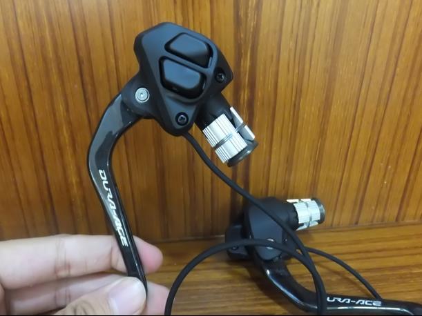 Shimano SW-9071 Dura-Ace Di2 2x11-Speed TT//Tri Bar-End Shifters Black