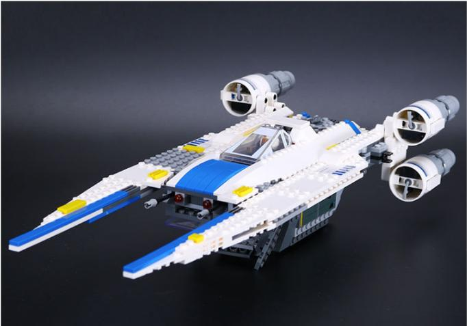 2017 New LEPIN 05054 679Pcs Star Wars The Rebel U-Wing Fighter Model Building Kits  Blocks Bricks Toys Gift With 75155<br>