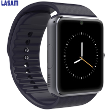 Smart Watch GT08 Clock With Sim Card Slot Push Message Bluetooth Connectivity Android Phone Smartwatch GT08