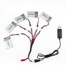 3.7V 850mAh 25C Drone Li-polymer Battery 902540 + USB Charger Set For RC SYMA X5C X5SC X5SW X5HC Quadcopter Aircraft TOY