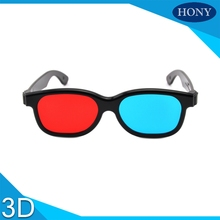 1pcs Passive Anaglyph Glasses Red Blue 3d glasses for 3d picture and normal tv(China)