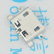 100Pcs Micro USB 5pin B Type Female Connector For Mobile Phone Micro USB Jack Connector 5 pin Charging Socket Mini USB jack