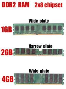 PC DDR2 Intel Memory 533 1GB 667 4GB 2GB for
