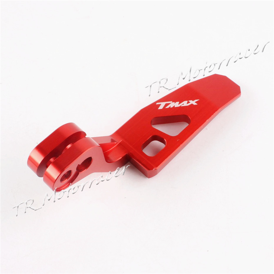 CNC Motorcycle Parking Brake Lever for Yamaha TMAX 500 2008 - 2011 TMAX 530 2012 - 2015 2012 2013 2014 Red<br><br>Aliexpress